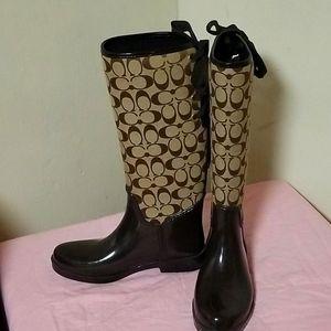 Coach Q1524 boots